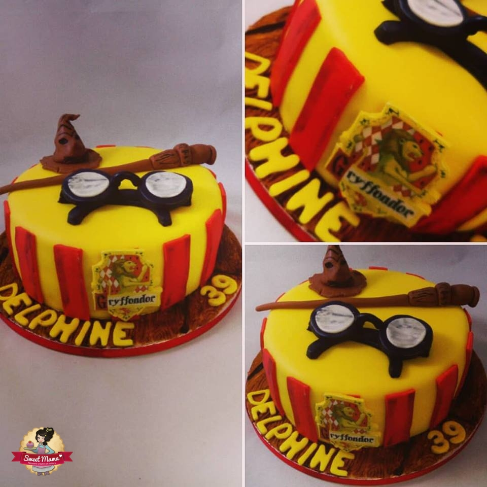 Harry Potter Cake Design Sweet Mama